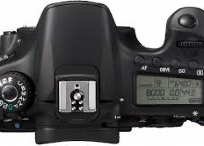 Canon 60D DSLR + Lens & Batteries - 2