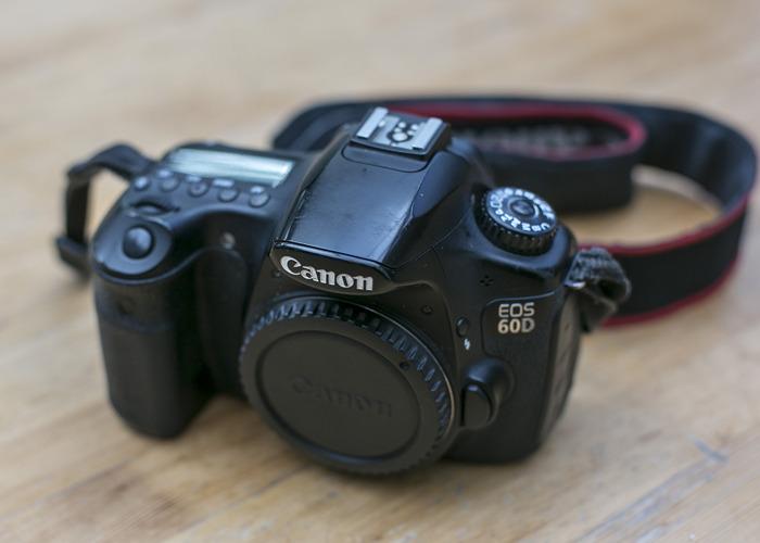 Rent Canon 60D DSLR camera in London | Fat Llama