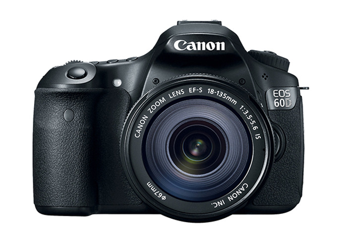 Canon 60D with 18-85mm Lens - 1