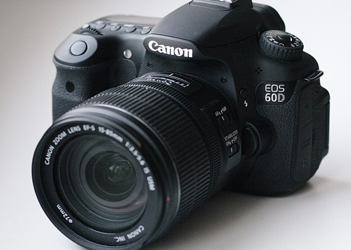 Canon 60D with a Canon EF-S 18–200 f/3.5–5.6 IS lens - 1