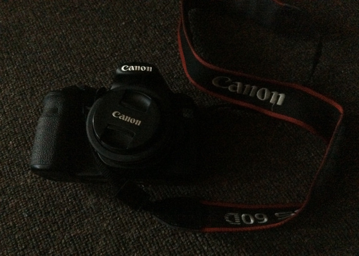 Canon 60D with an 40mm Lens Adapter  - 1