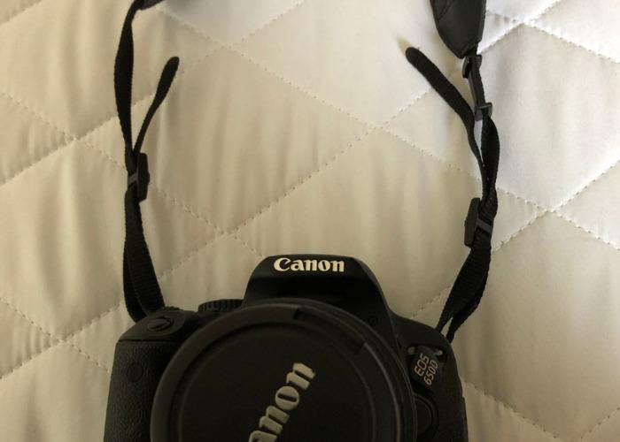 Canon 650D camera.  - 2