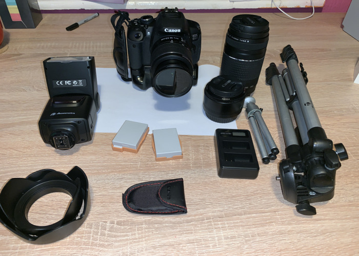 Canon 650D camera system - 1