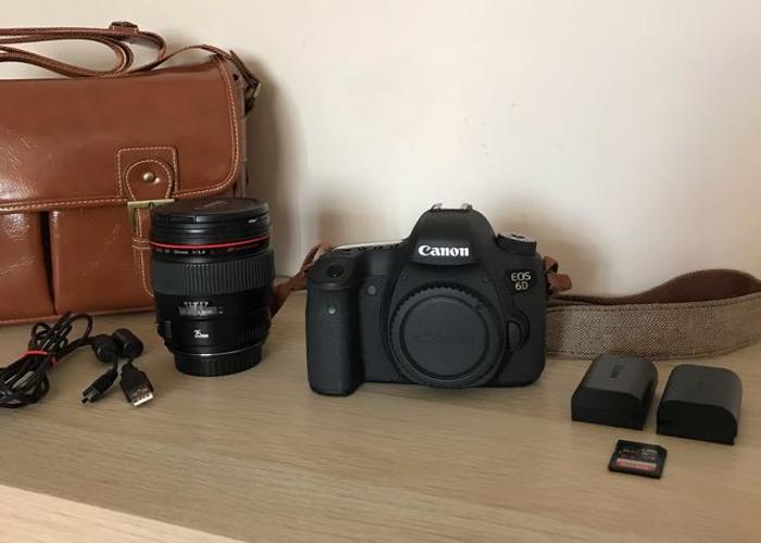 Canon 6D + 35mmL 1.4 + Batteries + SD Card - 2