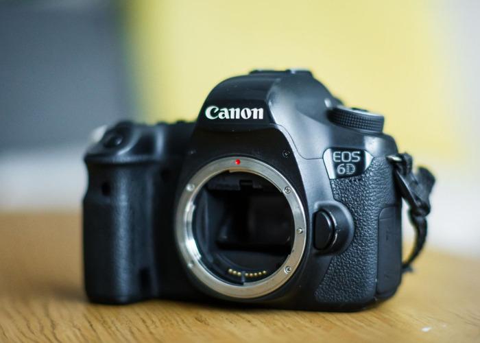 Canon 6d + Battery + 1x32gb SDcard - Fantastic full frame! - 1
