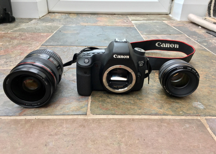 Canon 6D Body + Canon 50mm 1.4 lens & Canon 24-70mm 2.8 lens - 1