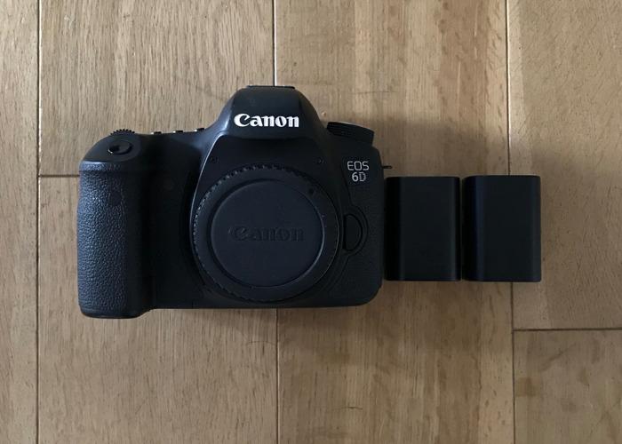 Canon 6D Camera - 1