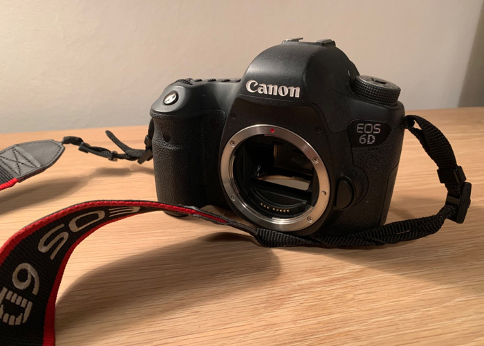 Canon 6D camera body only  - 1