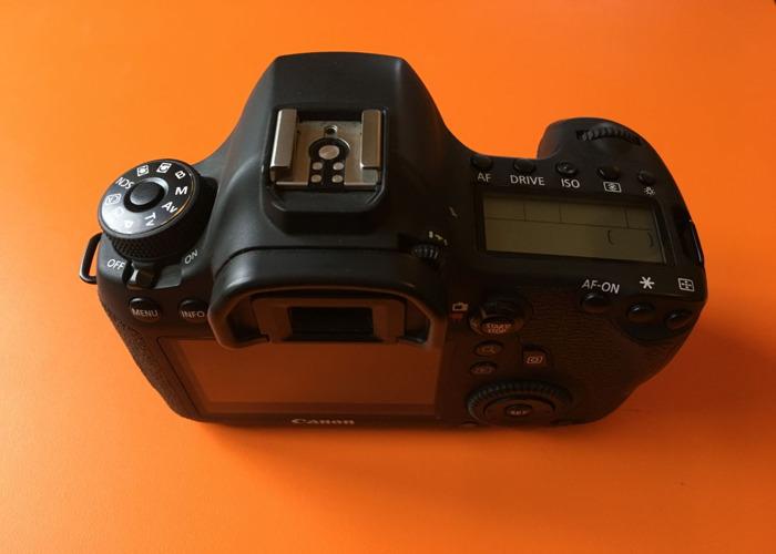 Canon 6D DSLR camera body & Manfrotto Tripod + Head - 2