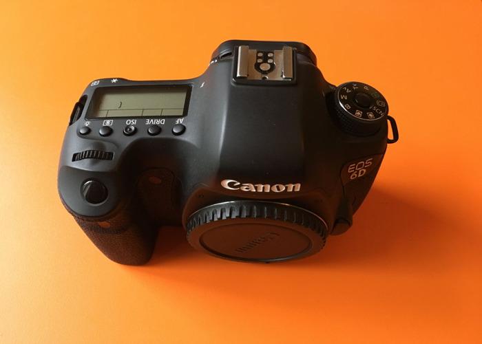 Canon 6D DSLR camera body & Manfrotto Tripod + Head - 1