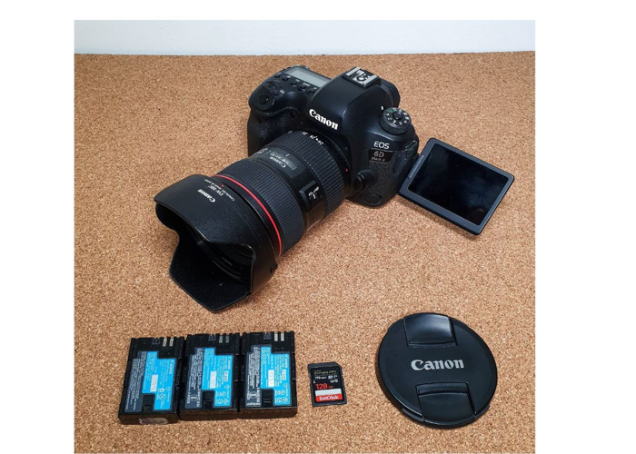 Canon 6D II + 24-70mm F2.8 L II USM Lens - 1