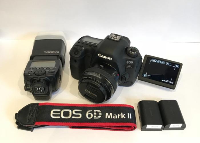 Canon 6D Mark ii & 50mm 1.4 & Canon flash  - 1