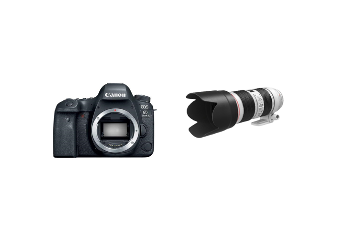 Canon 6D Mark II + 70-200 F2.8 L III Lens - 2