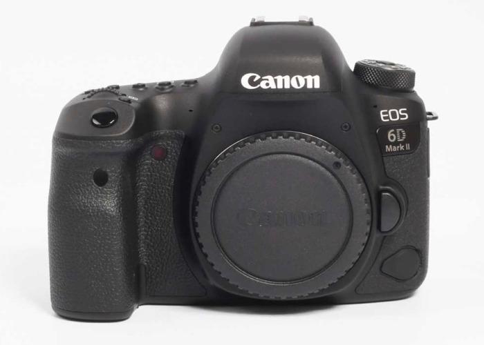 Canon 6D Mark II + Canon 16-35 mm 2.8 - 1