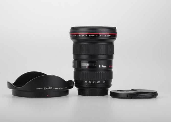 Canon 6D Mark II + Canon 16-35 mm 2.8 - 2