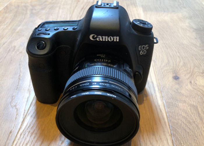 Canon 6D With 20mm and 50mm Lens - 1
