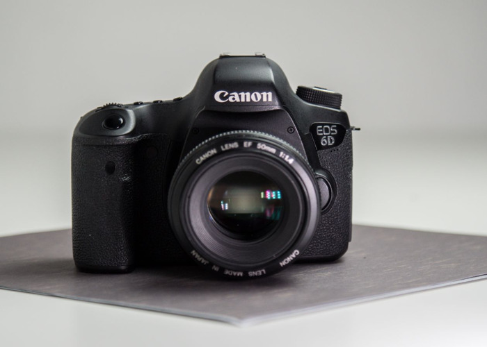 Canon 6D with 50mm  - 2