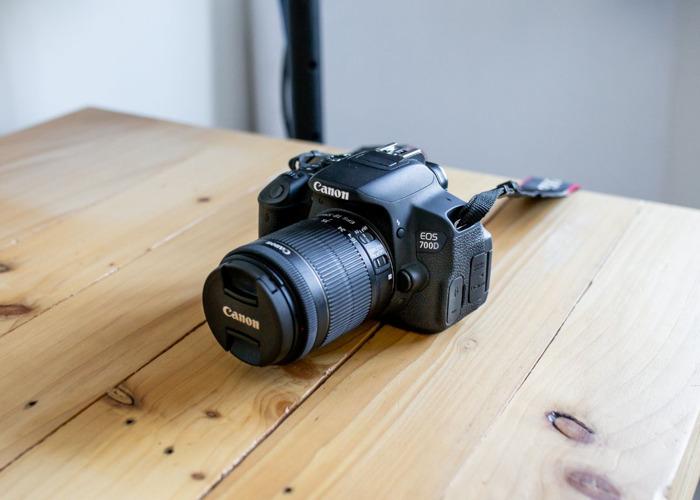 Canon 700D + 18-55mm Lens + Shutter Remote - 1