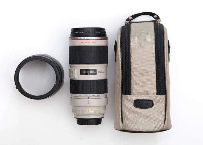 Canon 70-200 f/2.8 L IS II USM lens - 1
