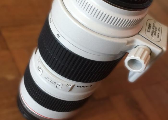 Canon 70-200 Zoom lens - 2