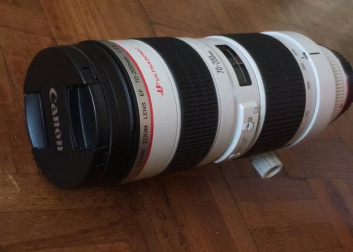 Canon 70-200 Zoom lens - 1