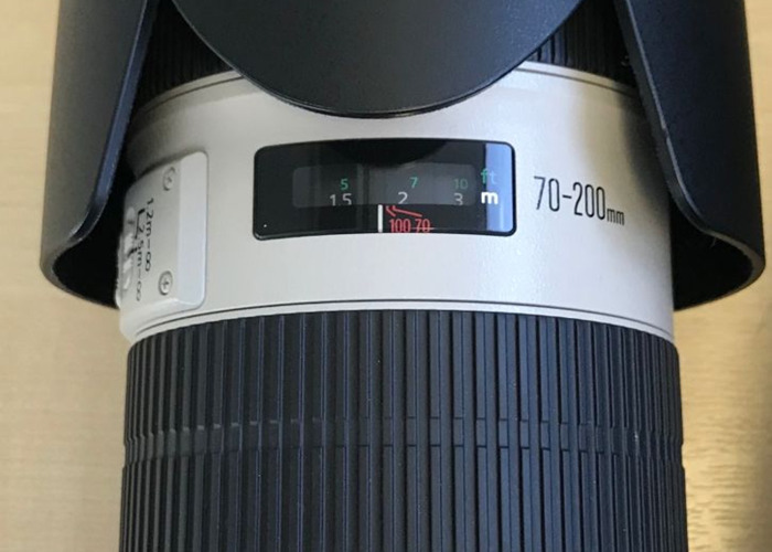Canon 70-200mm 2.8 ii Zoom lens - 2