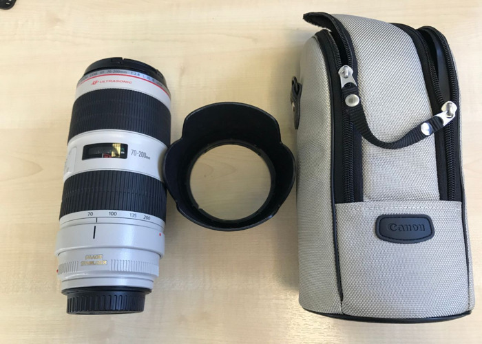 Canon 70-200mm 2.8 ii Zoom lens - 1