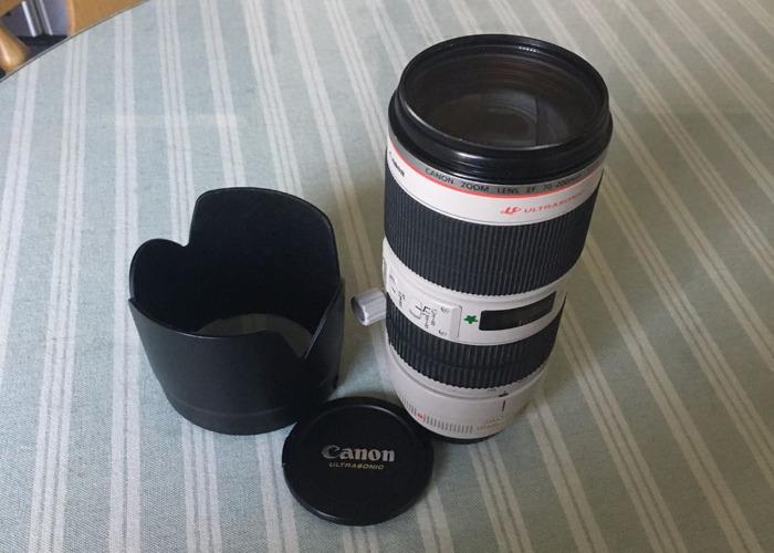 Canon 70-200mm 2.8L - 1