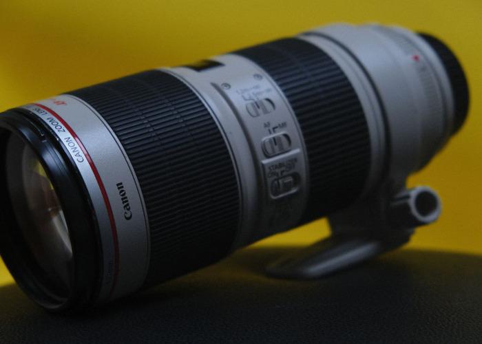 Canon 70-200mm f2.8  - 1