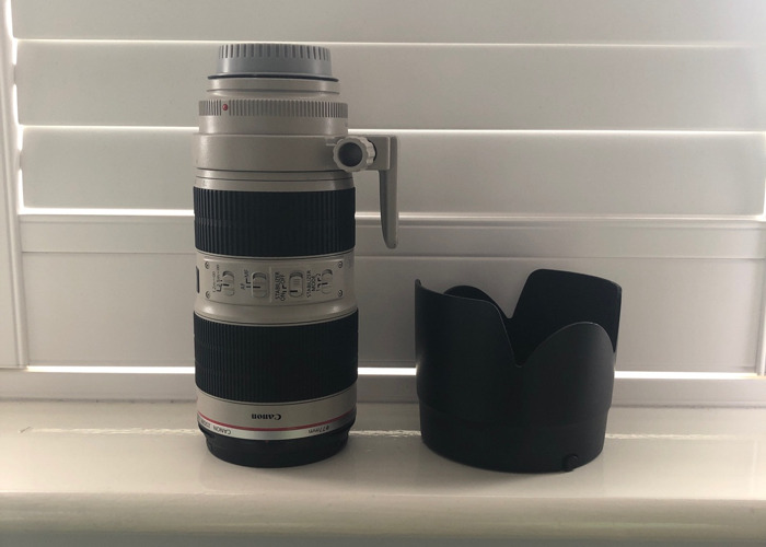 Canon 70-200mm f2.8 L IS II USM (Incl. Tripod Mount) - 1