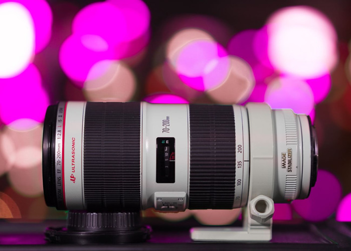 Canon 70-200mm f2.8 L IS II USM Lens - the latest version! - 1