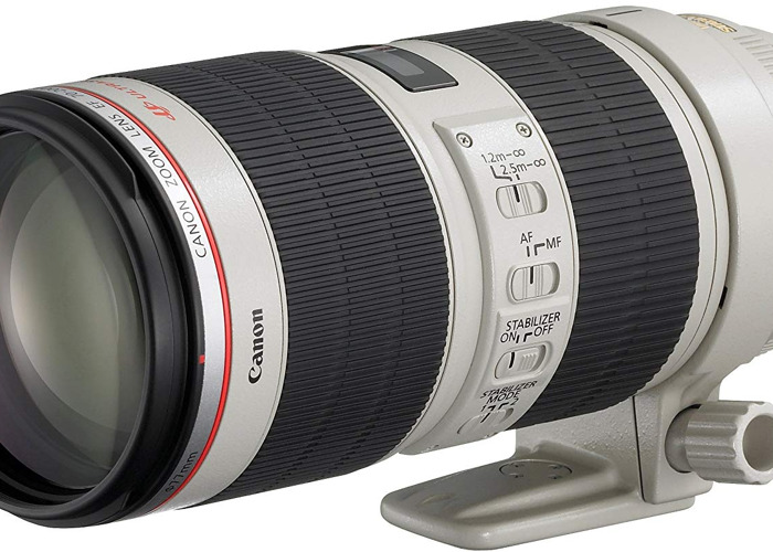 Canon 70-200mm f/2.8 L Lens - 1