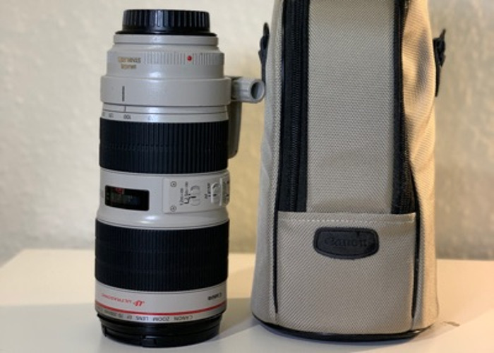 Canon 70-200mm f/2.8 L Series IS USM II - 2