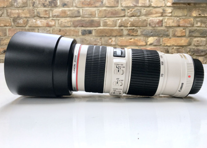 Canon 70-200mm f4 L IS USM - 1