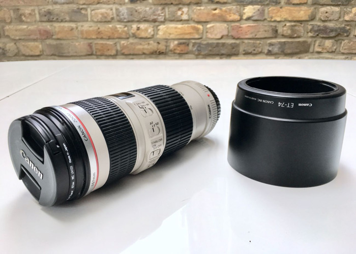 Canon 70-200mm f4 L IS USM - 2