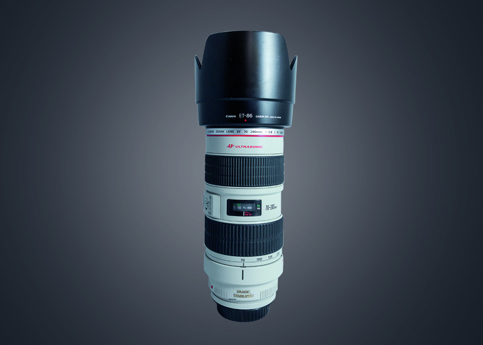 Canon 70-200mm L f2.8 IS Lens - 1