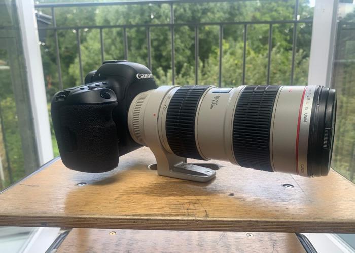 Canon 70-200mm F/2.8 L Lense (Image Stabilised)  - 1