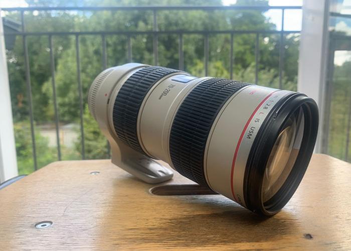 Canon 70-200mm F/2.8 L Lense (Image Stabilised)  - 2