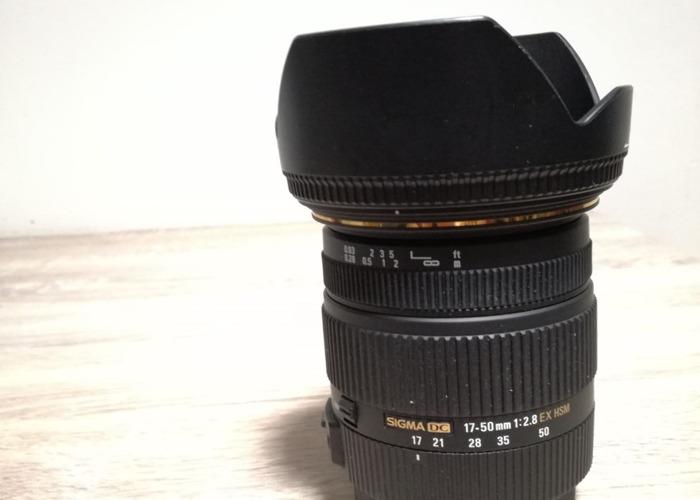 Canon 70D + Sigma 17-50mm f2.8 - 2