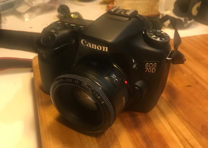 Canon 70D 2 lenses - 1