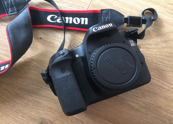 Canon 70D DSLR Camera Body Only - 1