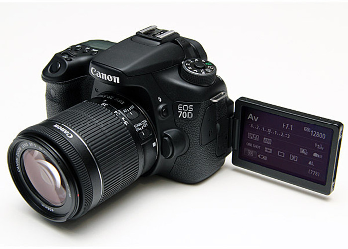 Canon 70D touch screen 360degree. - 1