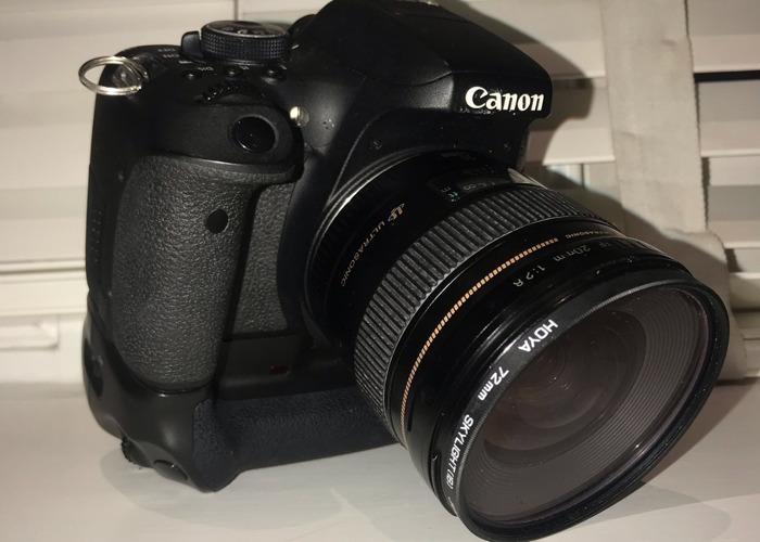 Canon 750D + Lens - 1
