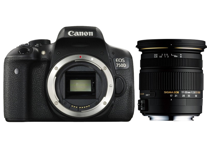 Canon 750D + Sigma 17-50mm 2.8 - 1
