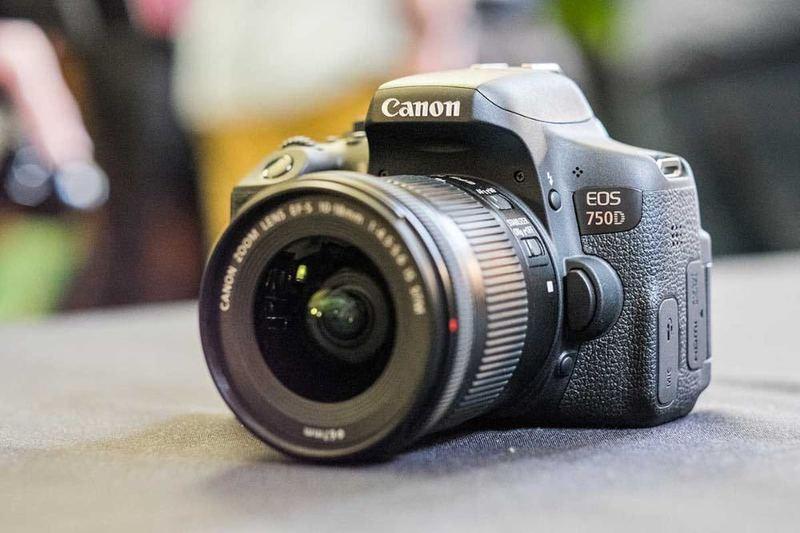 Canon 750D Camera - 1