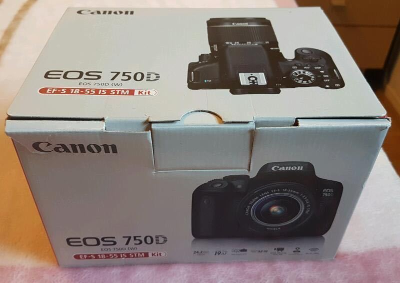 Canon 750D Camera - 2