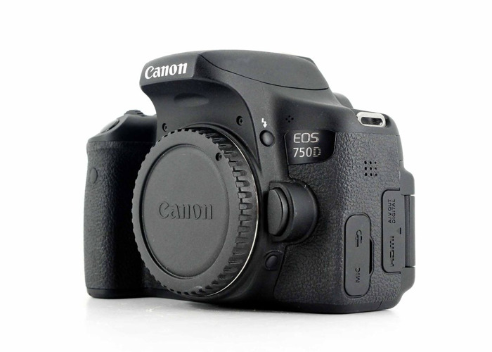 Canon 750D body only - 1