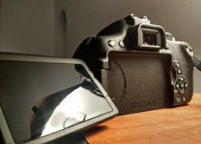 Canon 750d camera body - 2