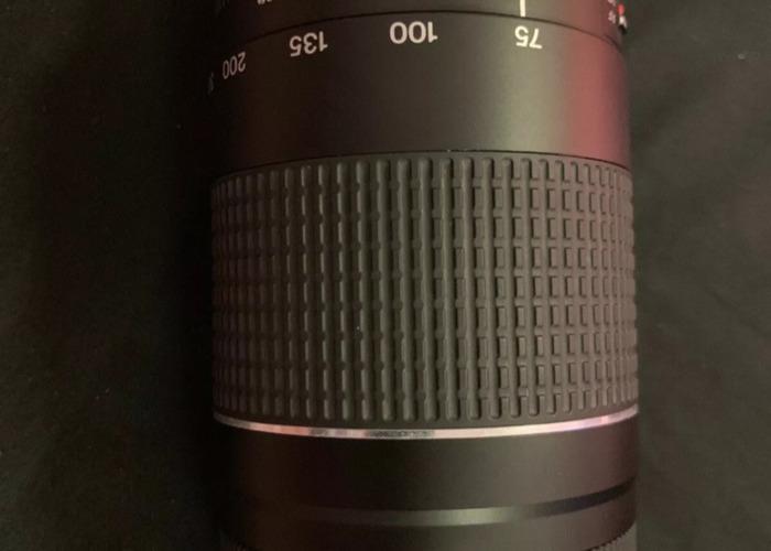Canon 75-300 lens  - 2