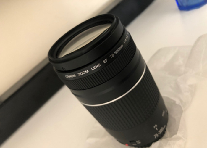 CANON- 75-300mm Zoom Lens  - 2